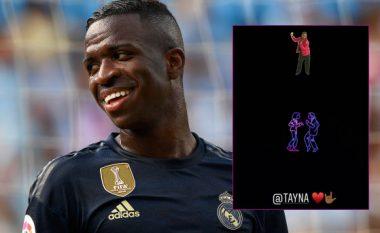 """Ylli i Realit, Vinicius Jr. shpërndan këngën """"Sicko"""" dhe etiketon Taynan në profilin e tij"""