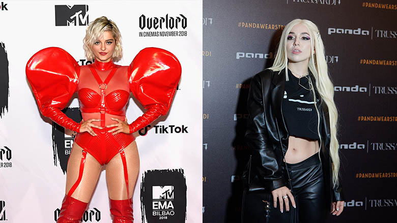 Fotomontazh: Bebe Rexha dhe Ava Max (Foto: Getty Images/Guliver)