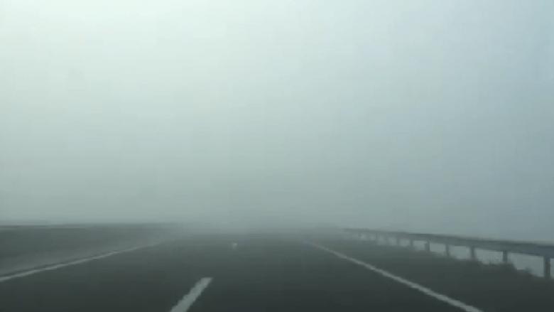 Policia: Kujdes, mjegulla mund të jetë rrezik për shoferët