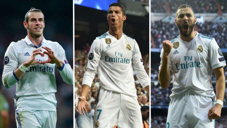 Bale, Ronaldo, Benzema (Foto: Goal.com)