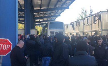 Momenti kur policia e Kosovës kthen mbrapa Crvena Zvezdan