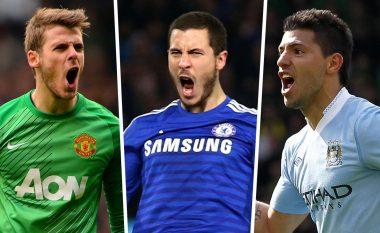 Goal.com zgjedh formacionin e dekadës në Ligën Premier, dominohet nga lojtarët e Man Cityt