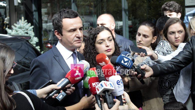 Osmani kritikon Kurtin për video mesazhet, megjithatë thotë se ka vullnet për marrëveshjen me LVV-në