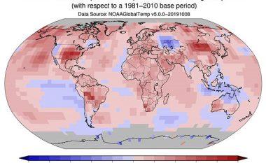 Shtatori i këtij viti ishte muaji më i nxehtë ndonjëherë – temperatura të tilla ishin regjistruar vetëm në vitin 1880
