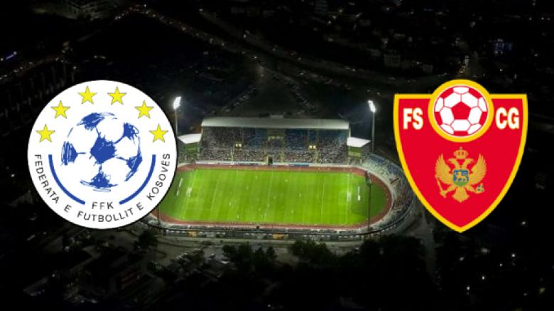 Formacioni i mundshëm i Kosovës në ndeshjen ndaj Malit të Zi