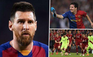 Messi zbulon golin më të mirë, momentin më të keq në karrierë dhe vështirësitë në përballjet me klubet angleze