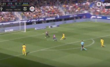 Gafa e Messit përballë portierit, argjentinasi e teproi në ndeshjen ndaj Eibarit