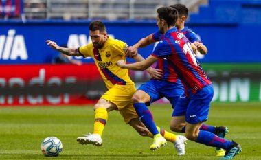 Notat e lojtarëve: Eibar 0-3 Barcelona, Messi më i dalluari