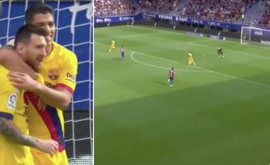 Messi tregoi se është lojtari më jo vetjak në botë me asistimin te Suarezi ndaj Eibarit