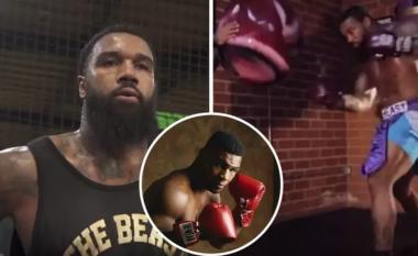 Njihuni me boksierin që po krahasohet me Tysonin - fuqia e tij është e frikshme