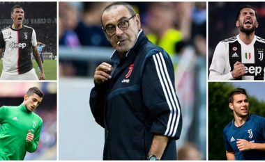 Sarri planifikon largimin e katër lojtarëve për t'ia kursyer klubit 250 milionë euro