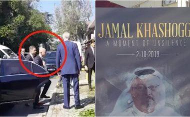 Gazetari turk kap pamjet, Jeff Bezos shihet duke hyrë në ndërtesën ku Jamal Khashoggi u vra një vit më parë