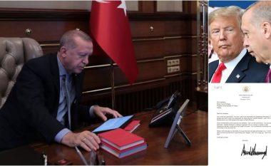 """Letrën në të cilën Trump i tha """"Mos u bëj budalla!"""", Erdogani e hodhi në """"koshin për mbeturina"""""""