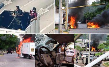 Pamje që ngjajnë me të luftës: Arrestohet djali i El Chapo-s, përleshje të ashpra me armë midis kartelit të drogës dhe forcave të sigurisë në Meksikë