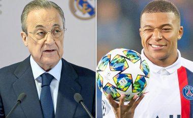 Mbappe objektivi kryesor i verës për Real Madridin, zbulohet biseda e Florentino Perezit me drejtuesit tjerë