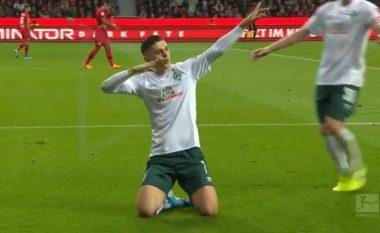 Werderi e cilëson Rashicën më të mirin pas golit të bukur