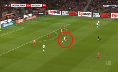 Milot Rashica i shënon gol të bukur Leverkusenit