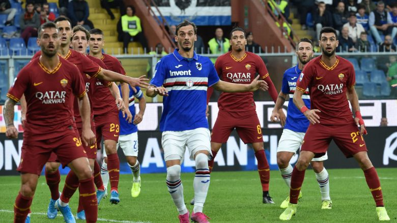 Sampdoria vs Roma (Foto Paolo Rattini/Getty Images/Guliver)