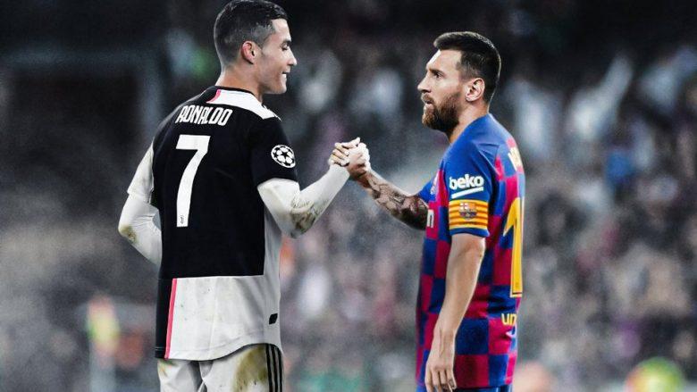 Ronaldo dhe Messi (Foto: BR/Football/Twitter)