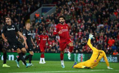 Shtatë gola të shënuar, Van Dijk trupërohet - Liverpool fiton me shumë mund ndaj RB Salzburgut