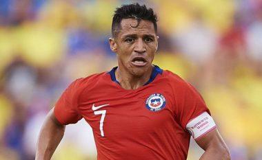 Sanchez mungon tre muaj te Interi pas lëndimit të pësuar te Kili