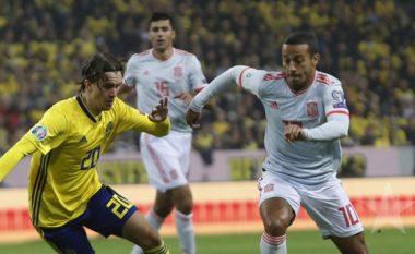 Suedia rrit gjasat për kualifikim pas barazimit ndaj Spanjës që tashmë është në 'Euro 2020'