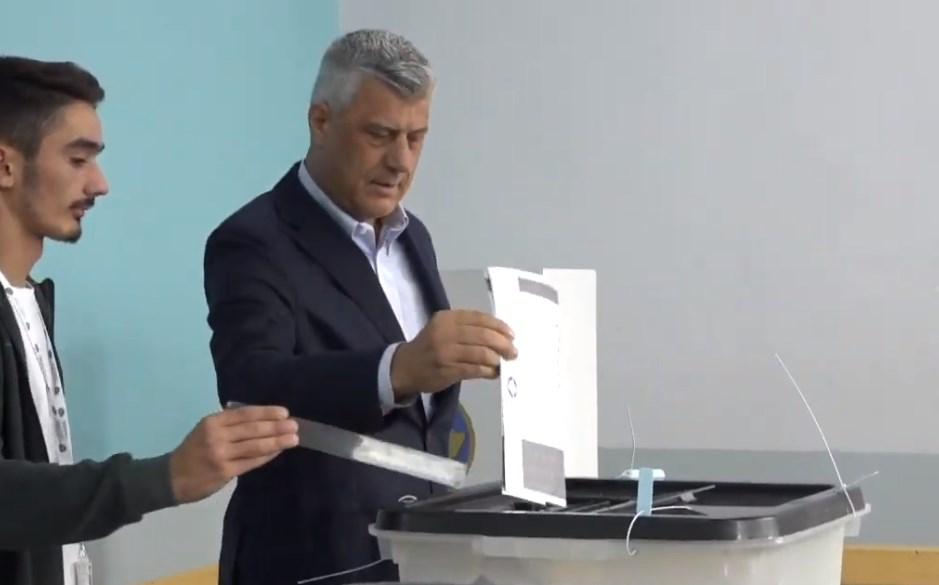 Thaçi qytetarëve të Kosovës: Votoni për të drejtën tuaj