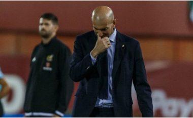 Zidane i irrituar dhe me kritika për lojtarët e Realit pas humbjes nga Mallorca