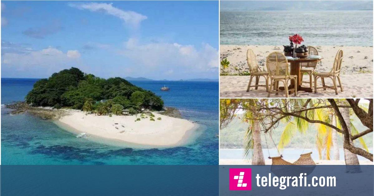 """Photo of Ishulli në Filipine, të cilin mund ta merrni me """"qira"""" për 60 euro për një natë"""