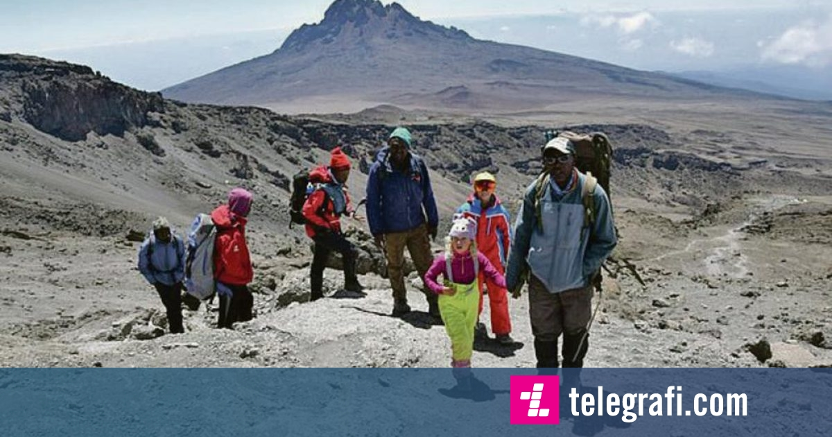Photo of Britanikja 6-vjeçe, Ashleen Mandrick thyen rekordin botëror – bëhet femra më e re që brenda dy jave arriti të ngjitet në majën e Kilimanxharos