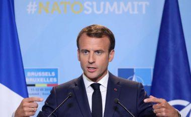 Emmanuel Macron: NATO-s i ka vdekur truri