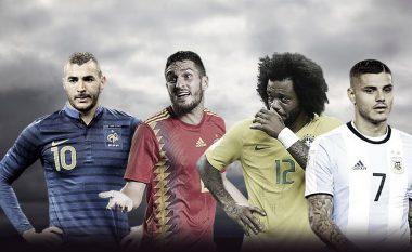 Benzema, Marcelo, Koke, Icardi dhe yjet e tjerë që nuk ftohen nga ekipet e tyre kombëtare