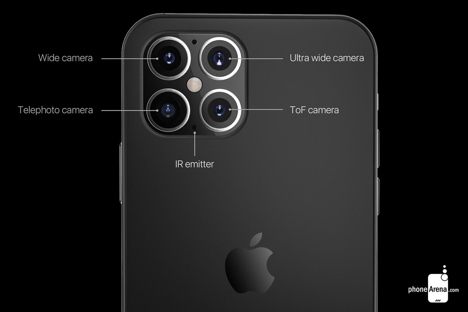 iPhone 12 mund të ketë katër kamera  sugjeron raporti i ri