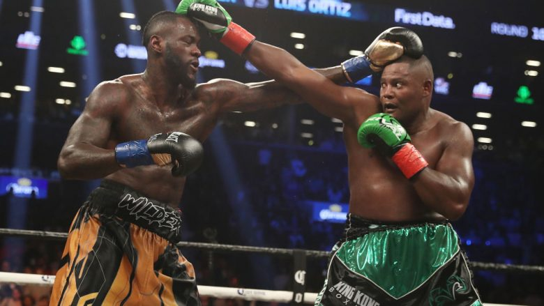 Deontay Wilder dhe Luis Ortiz (Foto: Al Bello/Getty Images/Guliver)