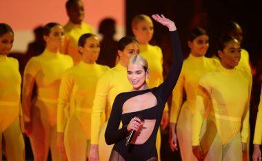 """Dua Lipa sjell një epokë të re në MTV EMA, hap spektaklin me """"Don't Start Now"""""""