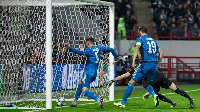 Juventusi e ka shënuar golin e 300-të në Ligën e Kampionëve