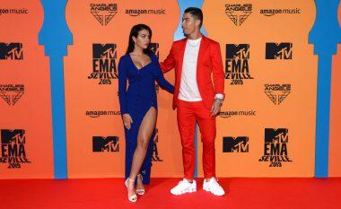 Georgina dhe Ronaldo marrin gjithë vëmendjen në 'MTV EMA'
