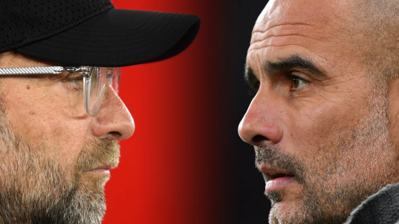 Jurgen Klopp vs Pep Guardiola (Foto: Mike Hewitt/Getty Images/Guliver)