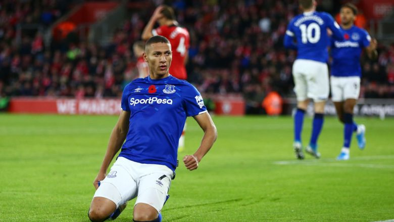 Richarlison. (Photo by Jordan Mansfield/Getty Images)