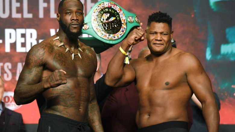 Deontay Wilder dhe Luis Ortiz  (Foto: Ethan Miller/Getty Images/Guliver)