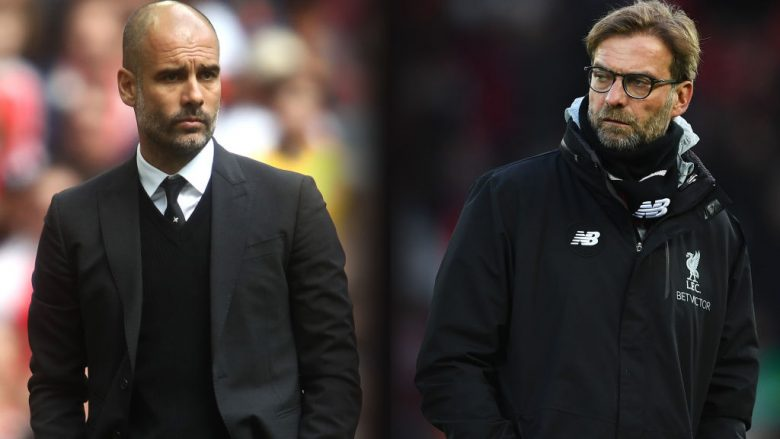 Guardiola dhe Klopp (Foto: Getty Images/Guliver)