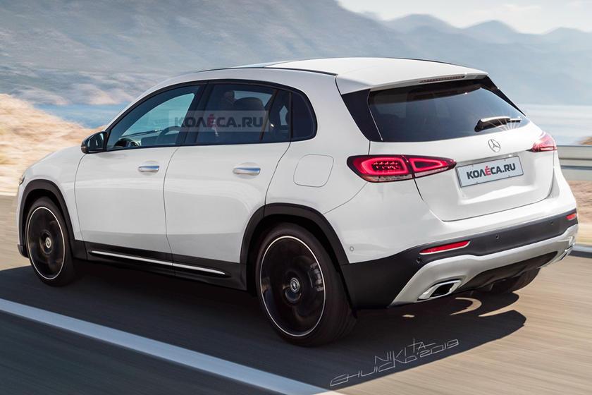 Krahas katër modeleve të këtij viti  Mercedes do ta sjellë edhe GLA të ri
