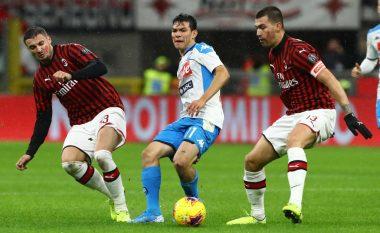 Milani dhe Napoli luajnë baras në derbin e javës