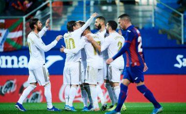 Real Madridi triumfon thellë te Eibari dhe merr kryesimin në La Liga