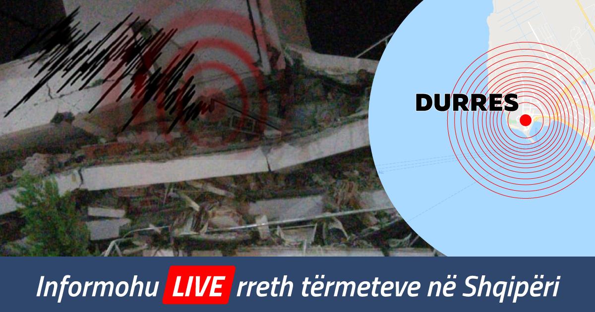 Shqipëria u godit nga dy tërmete të fuqishme: 23 të vdekur, mbi 600 të lënduar dhe shumë dëme materiale