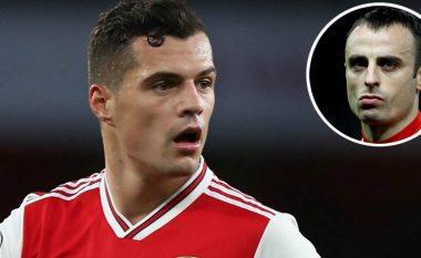 Berbatov: Tifozët e Arsenalit gabuan që vërshëllyen kapitenin, Xhaka bëri mirë që nuk e hodhi në tokë fanellën