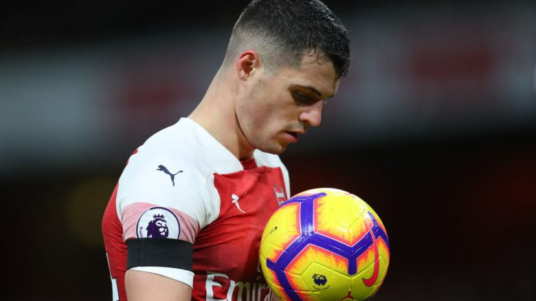 Granit Xhaka (Foto: Catherine Ivill/Getty Images/Guliver)