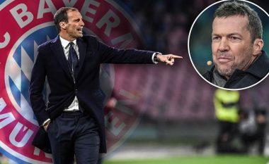 Lothar Matthaus: Bayerni duhet të shkojë për Allegrin, jo për Mourinhon