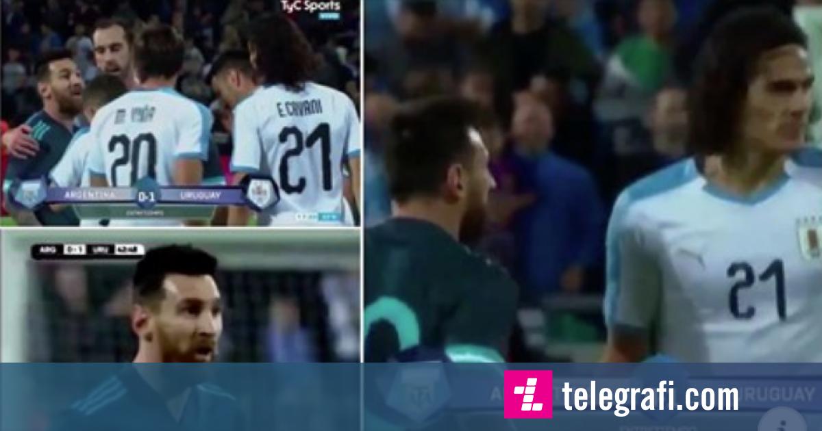 Photo of Cavani tentoi të fillonte një përleshje me Messin – argjentinasi i tha që t'i merrte të gjithë bashkëlojtarët