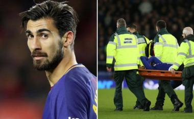 Trajneri i Evertonit për lëndimin e rëndë të Gomes: Duhet të presim, gjendja aktuale është e keqe